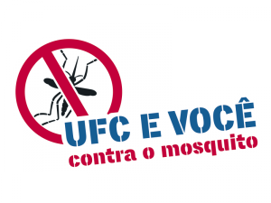 Marca da campanha UFC e você contra o mosquito
